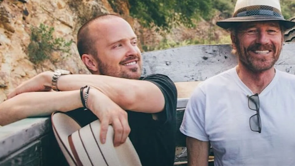 Aaron Paul on Starting Dos Hombres Mezcal With Bryan Cranston