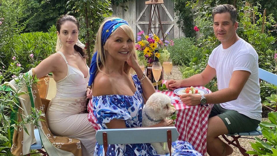 Christie Brinkley shares tips on how to live the Hamptons lifestyle