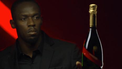 Usain Bolt, new Mumm CEO