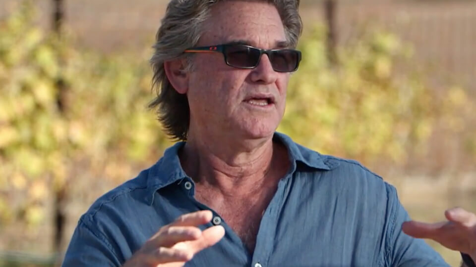 Kurt Russell about growing his wine business, GoGi